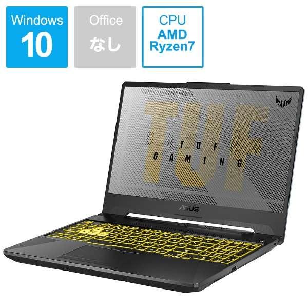 FA506IV-R7R2060BKS ゲーミングノートパソコン TUF Gaming A15 フォートレス・グレイ [15.6型 /AMD Ryzen 7 /SSD:512GB /メモリ:16GB /2020年5月モデル]