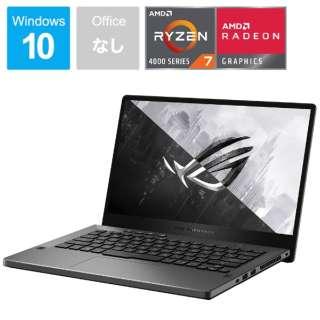 ゲーミングノートパソコン ROG Zephyrus G14 エクリプスグレー GA401IH-R7G1650G [14.0型 /AMD Ryzen 7 /SSD:512GB /メモリ:8GB /2020年6月モデル]