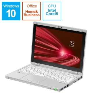 CF-RZ8HDEQR ノートパソコン レッツノート RZシリーズ シルバー [10.1型 /intel Core i5 /SSD:256GB /メモリ:8GB /2020年6月モデル]