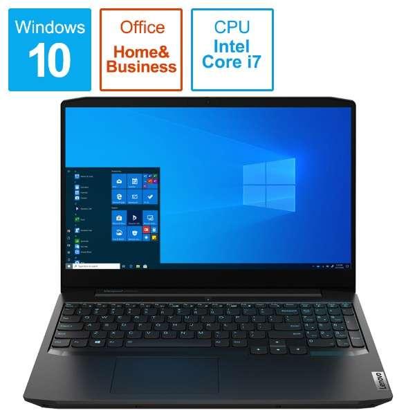 81Y4004YJP ゲーミングノートパソコン IdeaPad Gaming 350i オニキスブラック [15.6型 /intel Core i7 /HDD:1TB /SSD:256GB /メモリ:16GB /2020年5月モデル]