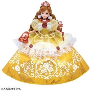 リカちゃん ゆめみるお姫さま エレガントローズドレス