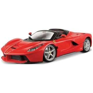 トミカプレゼンツ ブラーゴ シグネチャーシリーズ 1/43 ラフェラーリ アペルタ(赤)