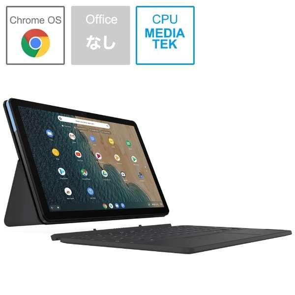 ノートパソコン IdeaPadDuetChromebook アイスブルー + アイアングレー ZA6F0038JP [10.1型 /MediaTek /eMMC:128GB /メモリ:4GB /2020年6月モデル]