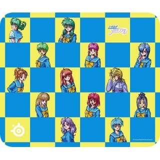 63813 ゲーミングマウスパッド [320x270x2mm] QcK Tokimeki Edition