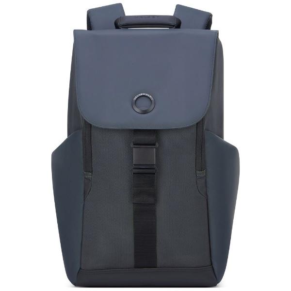 デルセー Secuflap カジュアルリュック セキュフラップ ブラック 202061000