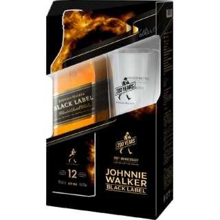 ジョニーウォーカー ブラックラベル グラス付 2020Ver 700ml【ウイスキー】