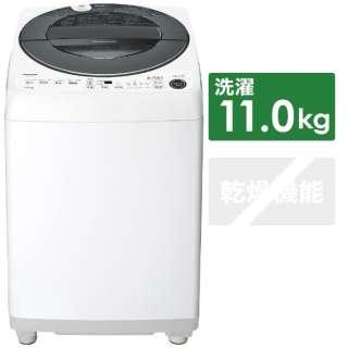 ES-GW11E-S 全自動洗濯機 シルバー系 [洗濯11.0kg /乾燥機能無 /上開き]