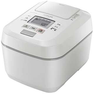 RZ-V100DM-W 炊飯器 パールホワイト [5.5合 /圧力IH]