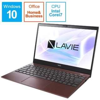 PC-PM750SAR ノートパソコン LAVIE ProMobile クラシックボルドー [13.3型 /intel Core i7 /SSD:512GB /メモリ:8GB /2020年夏モデル]