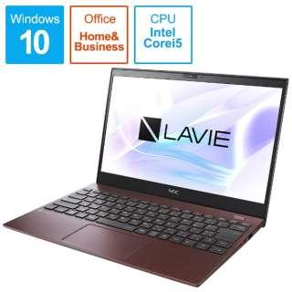 PC-PM550SAR ノートパソコン LAVIE ProMobile クラシックボルドー [13.3型 /intel Core i5 /SSD:256GB /メモリ:8GB /2020年夏モデル]