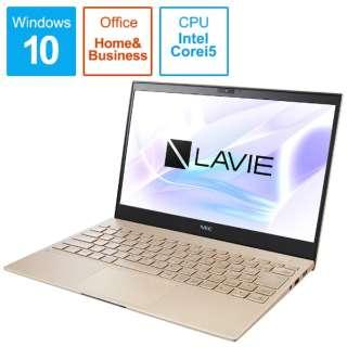 PC-PM550SAG ノートパソコン LAVIE ProMobile フレアゴールド [13.3型 /intel Core i5 /SSD:256GB /メモリ:8GB /2020年夏モデル]