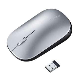 MA-WBLS174S マウス シルバー [BlueLED /3ボタン /USB /無線(ワイヤレス)]