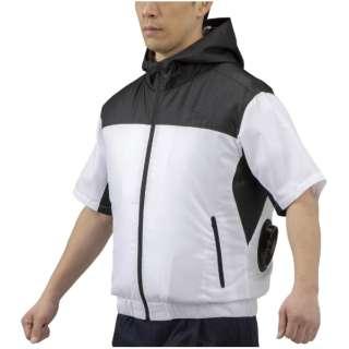 メンズ エアリージャケット半袖(Mサイズ/ブラック) C2JE0101【ファン・バッテリー別売り】