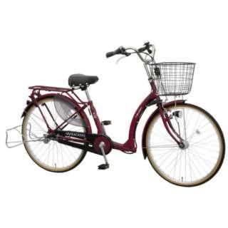 26型 子供乗せ自転車 ふらっか~ずキュート FRQ(エンジ/3段変速)FRQ263E E26M【2020年モデル】 【組立商品につき返品不可】