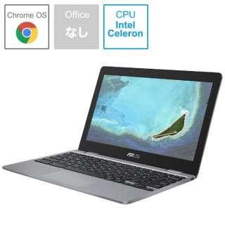 C223NA-GJ0018 ノートパソコン Chromebook (クロームブック) C223NA グレー [11.6型 /intel Celeron /eMMC:32GB /メモリ:4GB /2020年6月モデル]