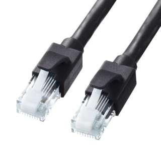 KB-T6ATS-10BK LANケーブル ブラック [10m /カテゴリー6A /スタンダード]