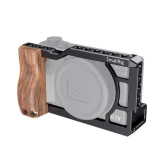 SmallRig Canon G7X Mark III専用ケージ2422 ブラック CCC2422