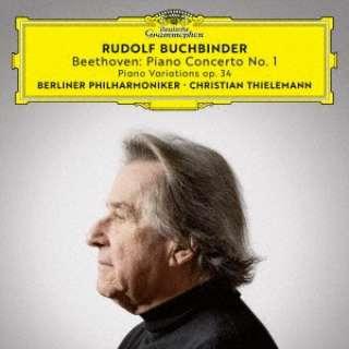 ルドルフ・ブッフビンダー/ ベートーヴェン:ピアノ協奏曲第1番、他 生産限定盤 【CD】