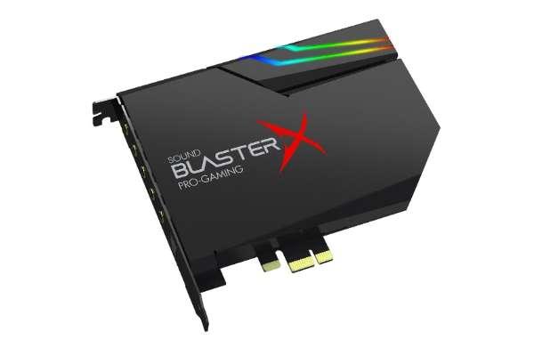 クリエイティブ・メディア「Sound BlasterX AE-5 Plus」SBX-AE5P-BKA