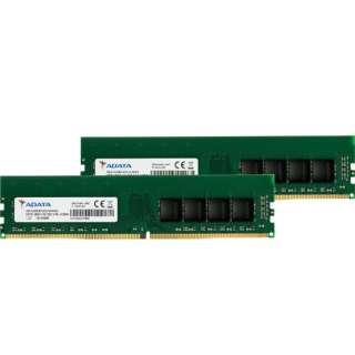 増設メモリ デスクトップ用 AD4U2666732G19-D [DIMM DDR4 /32GB /2枚]