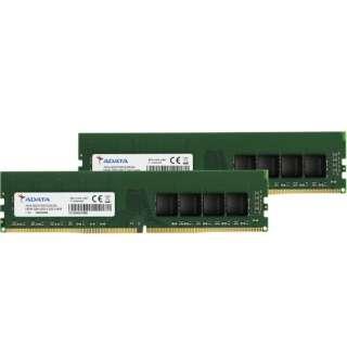 増設メモリ デスクトップ用 AD4U3200732G22-D [DIMM DDR4 /32GB /2枚]