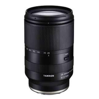 カメラレンズ 28-200mm F/2.8-5.6 Di III RXD(Model A071) [ソニーE /ズームレンズ]