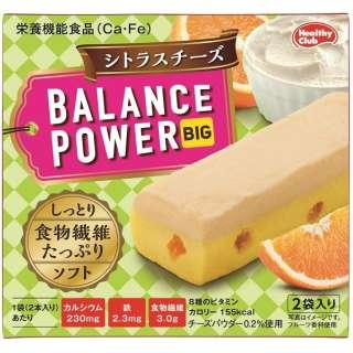 【店舗のみの販売】 ハマダコンフェクト バランスパワービッグ シトラスチーズ 4本