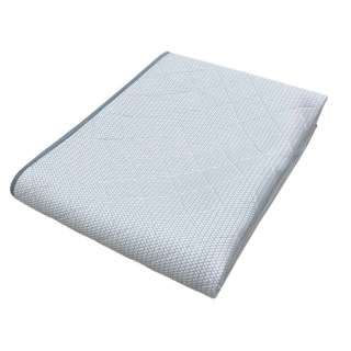 【涼感パッド】生毛工房オリジナル アイスマックス敷パッド セミダブルロングサイズ(120×205cm)