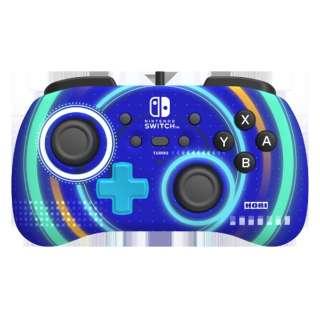 ホリパッド ミニ for Nintendo Switch サイクロンブルー NSW-245 【Switch】