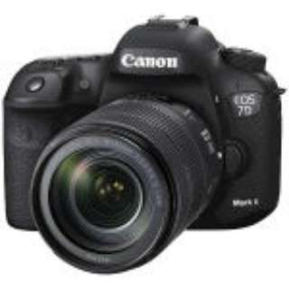【アウトレット品】 EOS 7D Mark II デジタル一眼レフカメラ EF-S18-135 IS USM 【展示品】【レンズキャップ、ボディキャップなし】