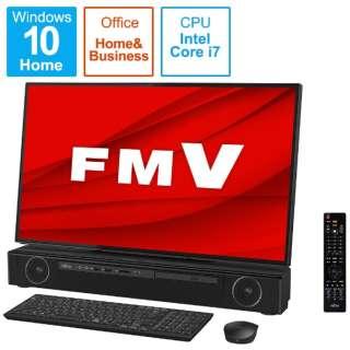 デスクトップパソコン ESPRIMO FH90/E2(テレビ機能) オーシャンブラック FMVF90E2B [27型 /intel Core i7 /メモリ:8GB /HDD:3TB /Optane:16GB /SSD:256GB /2020年夏モデル]