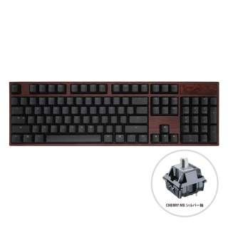 vm-va104-ll5y5sv-silver ゲーミングキーボード Phoenix(不死鳥) ANSI VA104 Cherry MX Speed silver(英語配列) [USB /有線]
