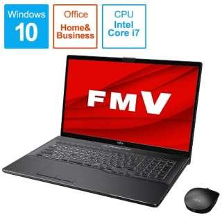 FMVN90E2B ノートパソコン LIFEBOOK NH90/E2 ブライトブラック [17.3型 /intel Core i7 /HDD:1TB /Optane:16GB /SSD:256GB /メモリ:8GB /2020年6月モデル]