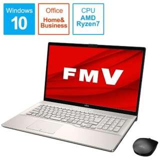 FMVN78E2GB LIFEBOOK NH78/E2 シャンパンゴールド [17.3型 /AMD Ryzen 7 /SSD:1TB /メモリ:8GB /2020年6月]