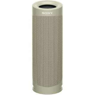 ブルートゥーススピーカー SRS-XB23 CC ベージュ [Bluetooth対応 /防水]