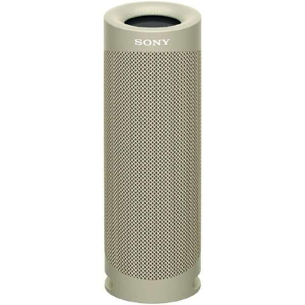 ブルートゥーススピーカー ベージュ SRS-XB23 CC [Bluetooth対応]