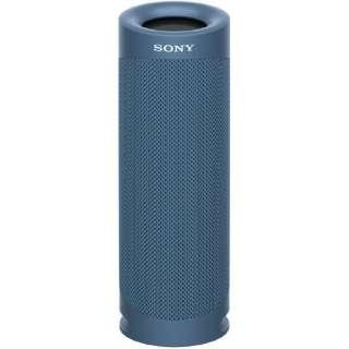 ブルートゥーススピーカー ブルー SRS-XB23 LC [Bluetooth対応 /防水]