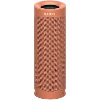 ブルートゥーススピーカー SRS-XB23 RC レッド [Bluetooth対応 /防水]