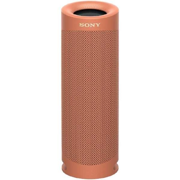 ブルートゥーススピーカー レッド SRS-XB23 RC [Bluetooth対応]