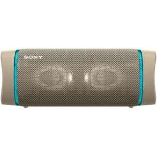 ブルートゥーススピーカー SRS-XB33 CC ベージュ [Bluetooth対応 /防水]