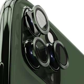 iPhone 11Pro/11ProMax用背面カメラレンズプロテクター エアリア ミッドナイトグリーン ICPT11P-MGR