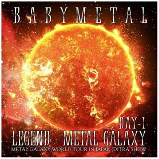 BABYMETAL/ LEGEND - METAL GALAXY [DAY-1](METAL GALAXY WORLD TOUR IN JAPAN EXTRA SHOW) 【CD】