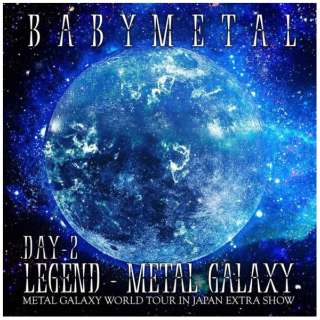 BABYMETAL/ LEGEND - METAL GALAXY [DAY-2](METAL GALAXY WORLD TOUR IN JAPAN EXTRA SHOW) 【CD】