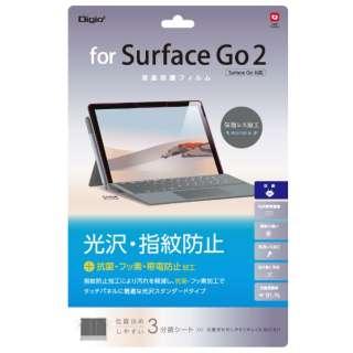 Surface Go2 /Surface Go用 液晶保護フィルム 光沢指紋防止 TBF-SFG20FLS