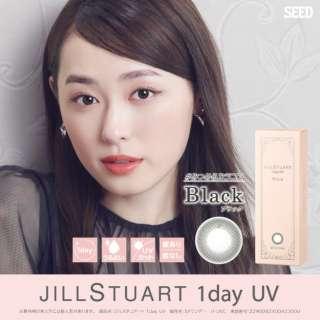 ジルスチュアート ワンデー UV ブラック(30枚入)[JILL STUART 1day UV/1日使い捨てコンタクトレンズ/カラコン]