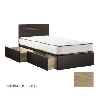 【フレームのみ】収納付き Epoint2703[スノコ床板](セミダブルサイズ(FT290)リアルオーク)【日本製】 【受注生産につきキャンセル・返品不可】