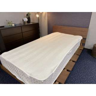 【ベッドパッド】ウォッシャブルベッドパッド ダブルサイズ(140×200cm/ベージュ) [ベッドパッド]