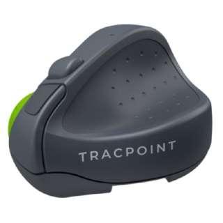マウス TRACPOINT グレー/ライムグリーン SM601 [無線(ワイヤレス) /3ボタン /Bluetooth]