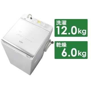 BW-DX120F-W タテ型洗濯乾燥機 ホワイト [洗濯12.0kg /乾燥6.0kg /ヒーター乾燥(水冷・除湿タイプ) /上開き]