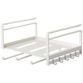 戸棚下多機能ラック プレート ホワイト(Kitchen Storage Rack) ホワイト 4746